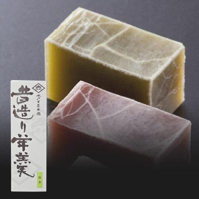 昔造り羊羹(抹茶) 商品画像
